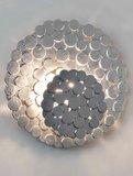 Terzani Tresor N62A wandlamp zilver showroommodel_