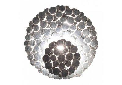 Terzani Tresor N62A wandlamp zilver showroommodel
